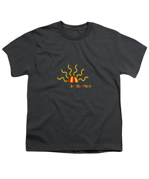 Solitary Seagull Youth T-Shirt by Valerie Anne Kelly