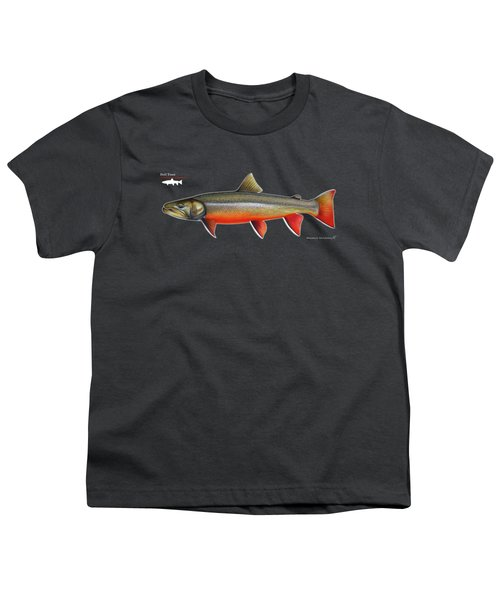 Spawning Bull Trout And Kokanee Salmon Youth T-Shirt by Nick Laferriere