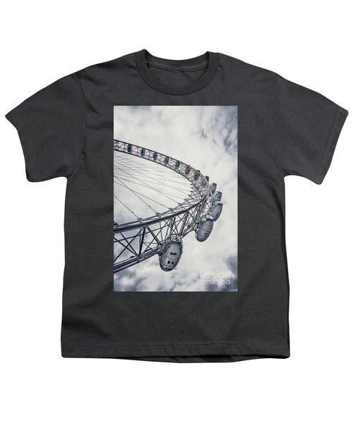 Spin Me Around Youth T-Shirt by Evelina Kremsdorf
