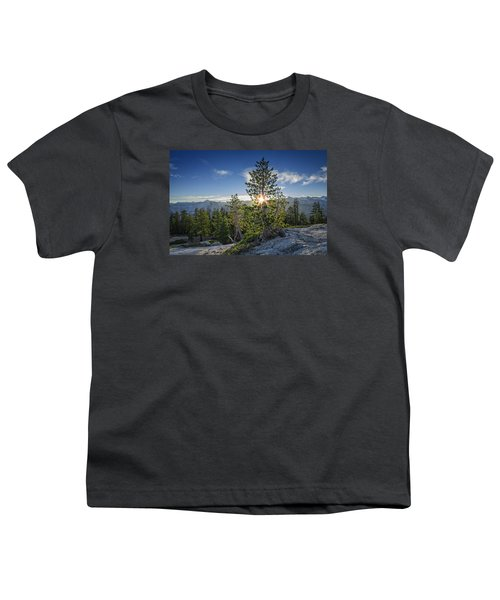 Sunrise On Sentinel Dome Youth T-Shirt by Rick Berk