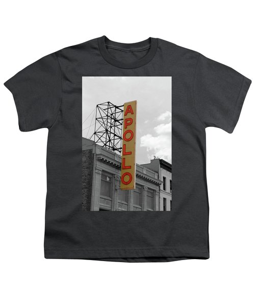 The Apollo In Harlem Youth T-Shirt by Danny Thomas