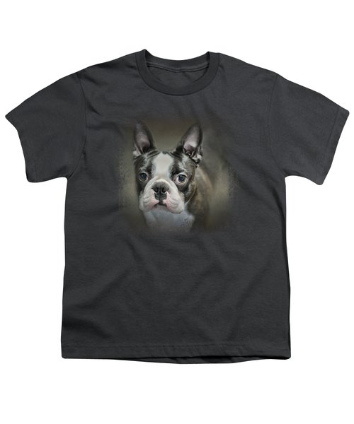 The Face Of The Boston Youth T-Shirt by Jai Johnson