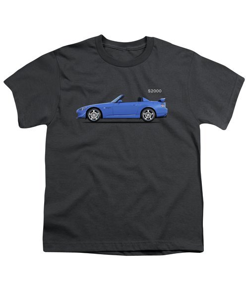 The Honda S2000 Youth T-Shirt by Mark Rogan