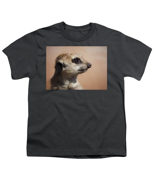 The Meerkat Da Youth T-Shirt by Ernie Echols