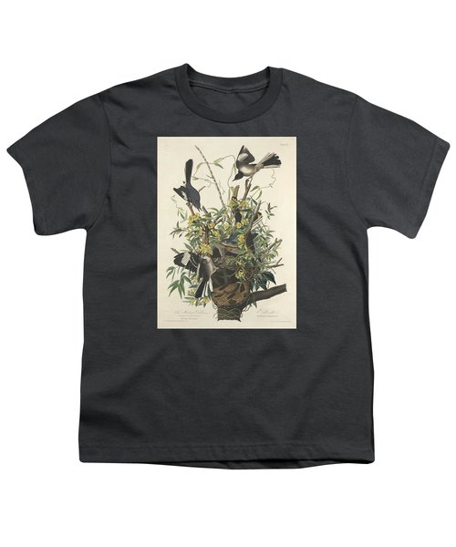 The Mockingbird Youth T-Shirt by John James Audubon