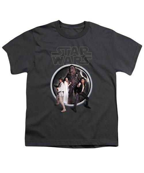 The Rebels Youth T-Shirt by Edward Draganski