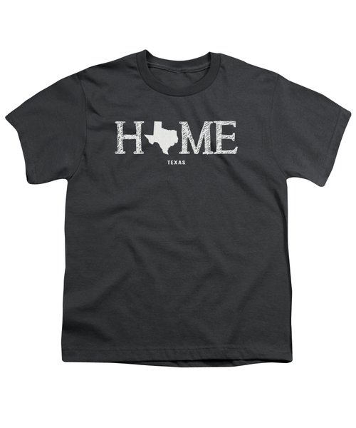 Tx Home Youth T-Shirt by Nancy Ingersoll
