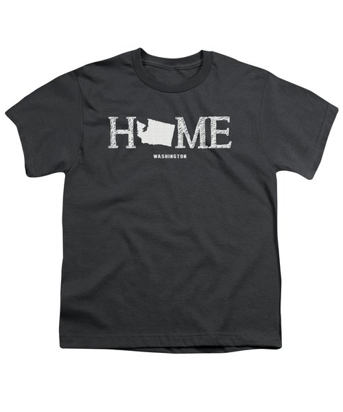 Wa Home Youth T-Shirt by Nancy Ingersoll
