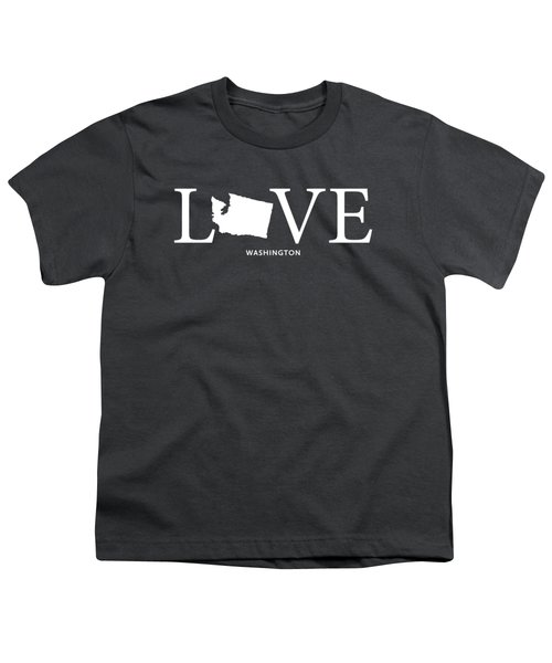Wa Love Youth T-Shirt by Nancy Ingersoll