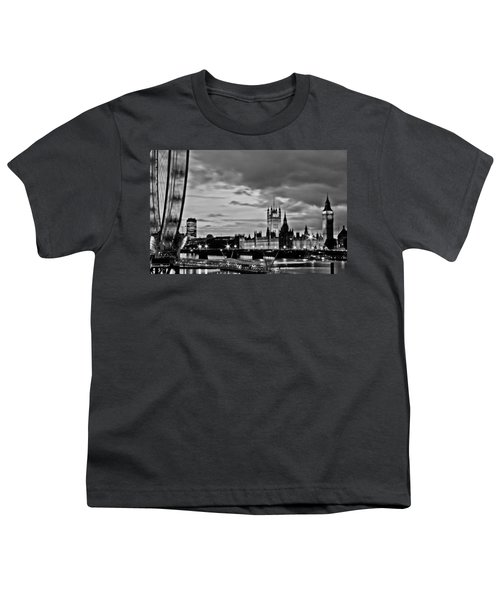 Westminster Black And White Youth T-Shirt by Dawn OConnor