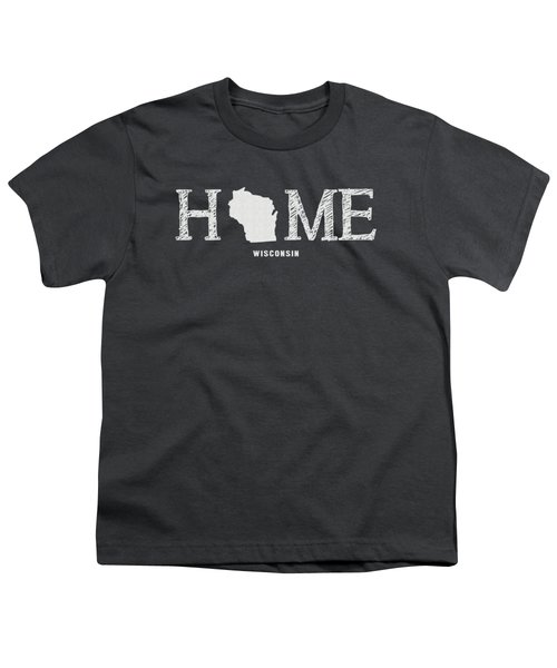 Wi Home Youth T-Shirt by Nancy Ingersoll