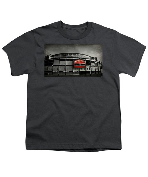 Wrigley Field Youth T-Shirt by Stephen Stookey