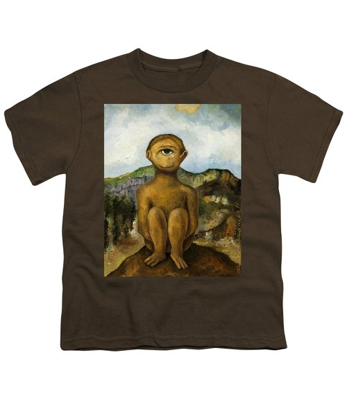 Cyclops Youth T-Shirt by Leah Saulnier The Painting Maniac