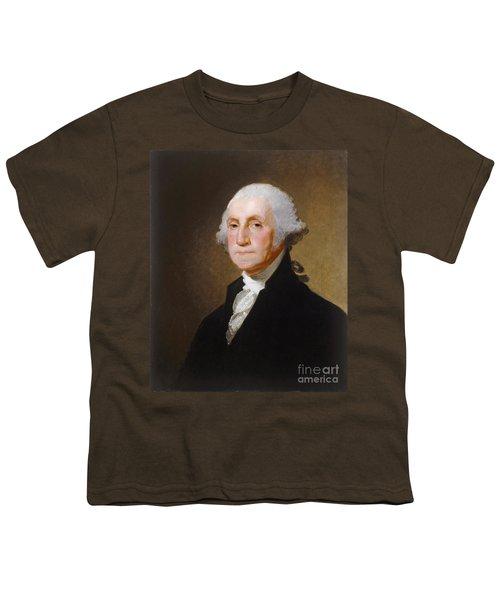 George Washington Youth T-Shirt by Gilbert Stuart