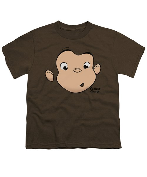 Curious George - George Face Youth T-Shirt by Brand A