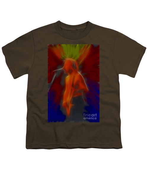 Def Leppard-adrenalize-gb13-phil-fractal Youth T-Shirt by Gary Gingrich Galleries