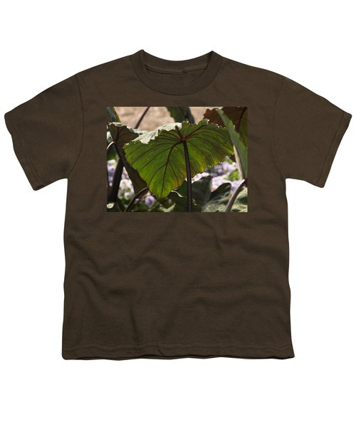 Elephant Ear Youth T-Shirt by James Peterson