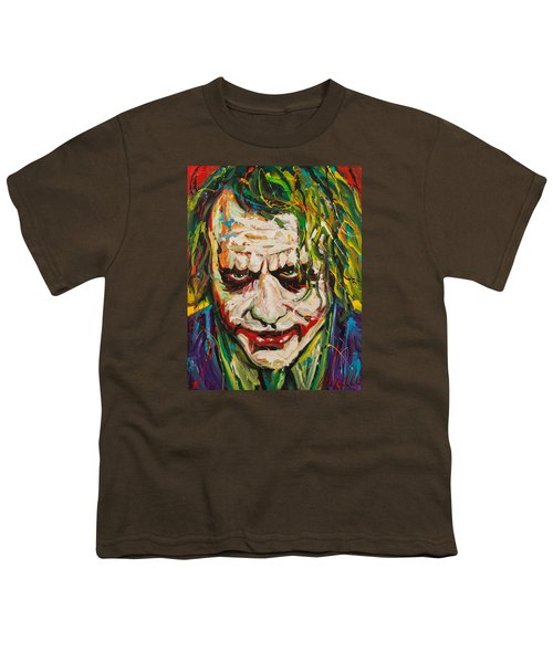 Joker Youth T-Shirt by Michael Wardle