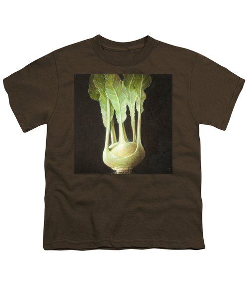 Kohl Rabi, 2012 Acrylic On Canvas Youth T-Shirt by Lincoln Seligman