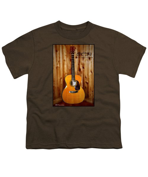 Martin Guitar - The Eric Clapton Limited Edition Youth T-Shirt by Bill Cannon