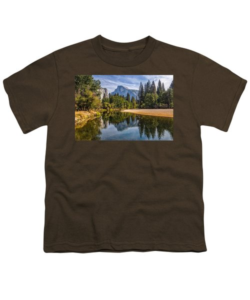 Merced River View II Youth T-Shirt by Peter Tellone