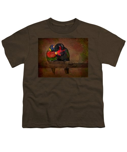 Secrets Youth T-Shirt by Susan Candelario