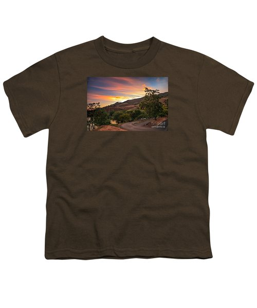 Sunrise At Woodhead Park Youth T-Shirt by Robert Bales