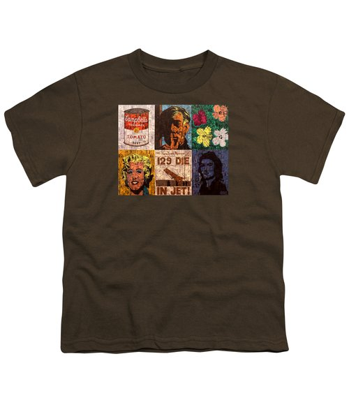 The Six Warhol's Youth T-Shirt by Brent Andrew Doty