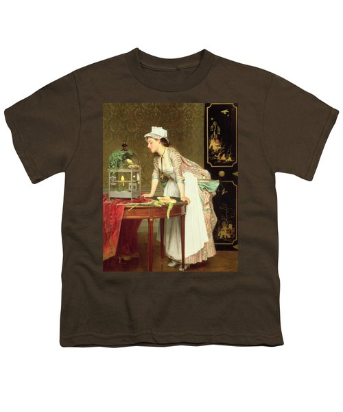 The Yellow Canaries Youth T-Shirt by Joseph Caraud