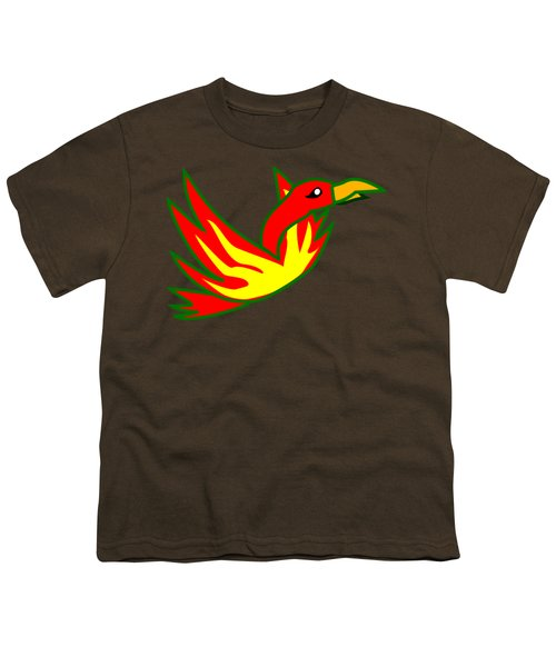 Phoenix Youth T-Shirt by Frederick Holiday
