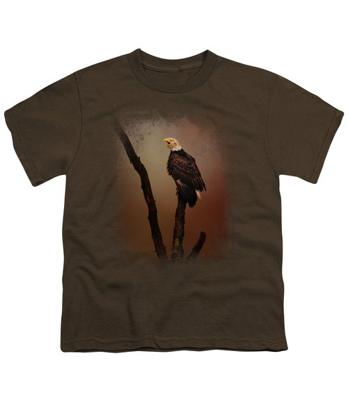 After The Autumn Storm Youth T-Shirt by Jai Johnson