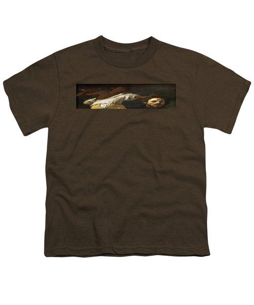 Ancient Human Instinct Youth T-Shirt by David Bridburg