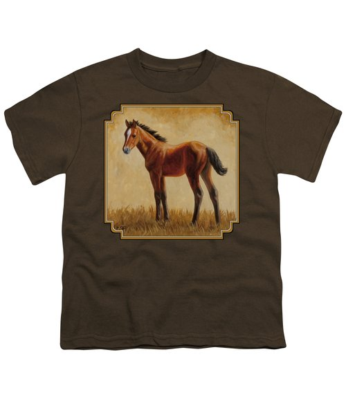 Afternoon Glow Youth T-Shirt by Crista Forest
