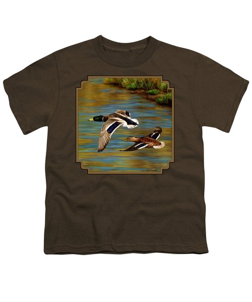 Golden Pond Youth T-Shirt by Crista Forest