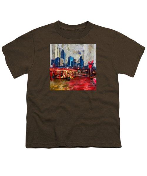Atlanta Skyline 231 1 Youth T-Shirt by Mawra Tahreem