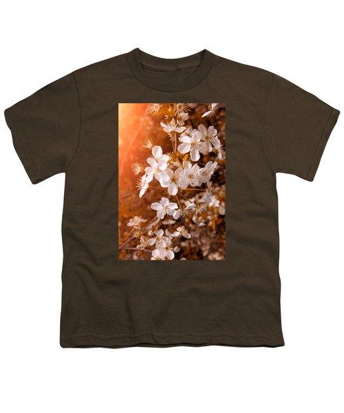 Blossoming Garden Youth T-Shirt by Konstantin Sevostyanov