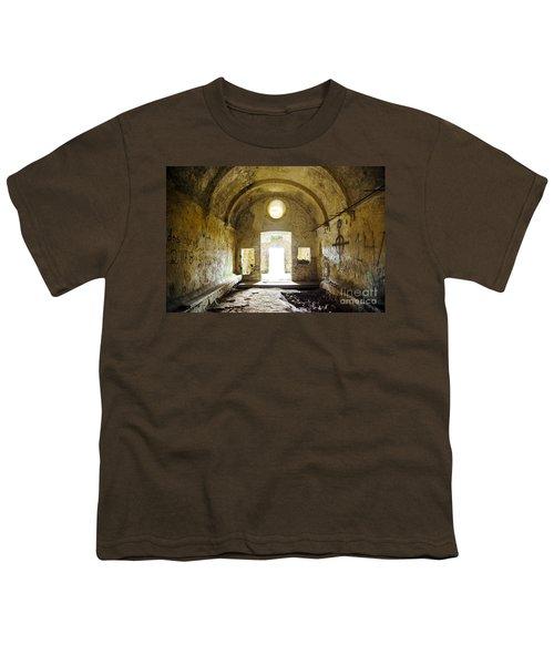 Church Ruin Youth T-Shirt by Carlos Caetano