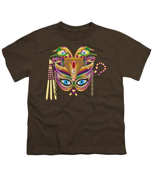 Cleopatra Viii For Any Color Products But No Prints Youth T-Shirt by Bill Campitelle