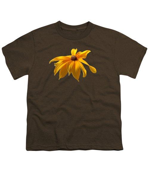 Daisy - Flower - Transparent Youth T-Shirt by Nikolyn McDonald