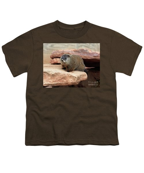 Groundhog Youth T-Shirt by Louise Heusinkveld