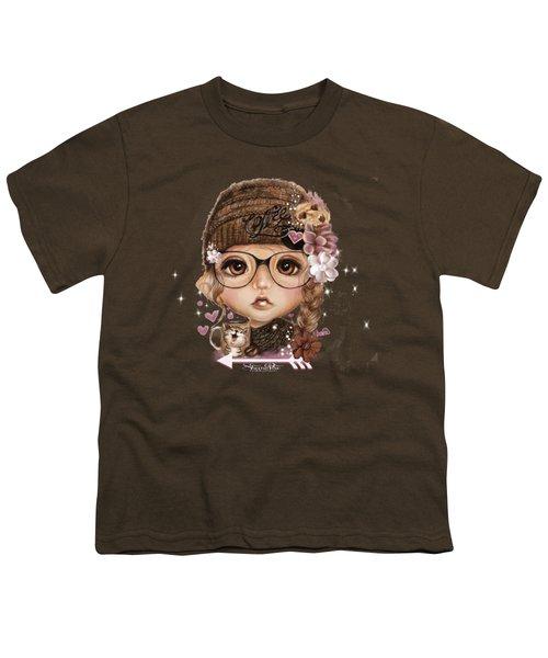 Java Joanna Youth T-Shirt by Sheena Pike