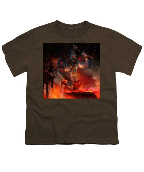 Maker Of The World Youth T-Shirt by Ryan Barger