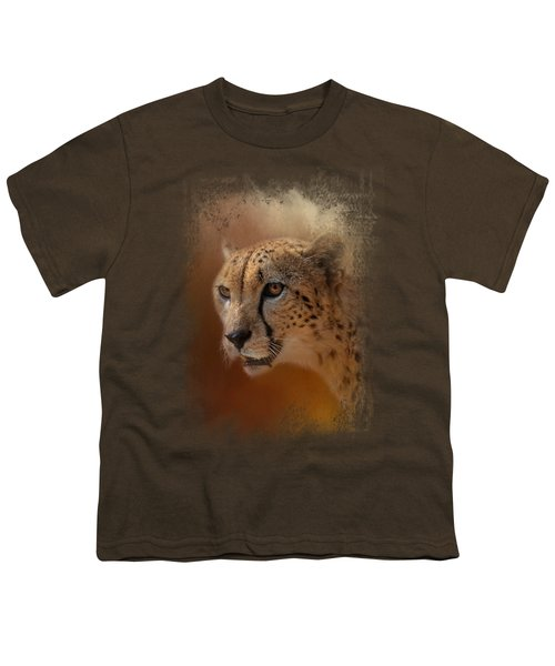 One With The Sun Youth T-Shirt by Jai Johnson