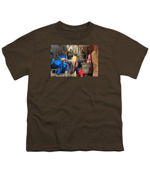 Orlando Bloom Youth T-Shirt by Qingrui Zhang