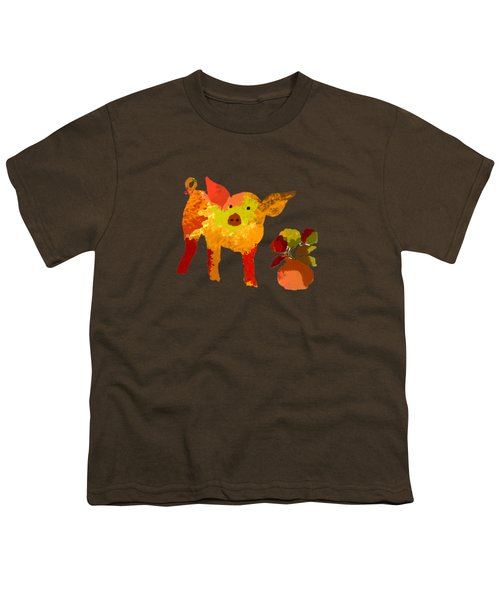 Pretty Pig Youth T-Shirt by Holly McGee