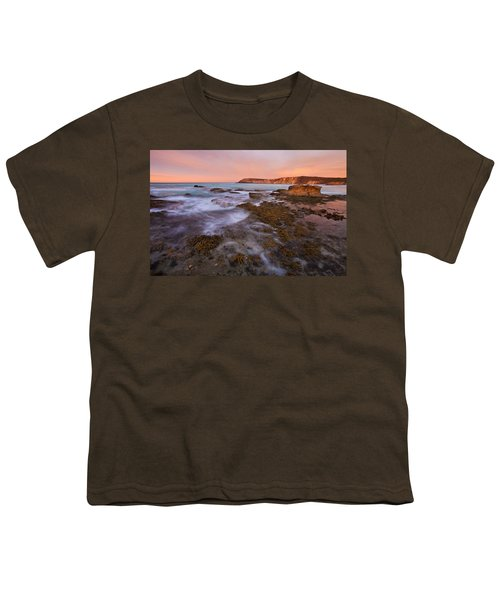 Red Dawning Youth T-Shirt by Mike  Dawson