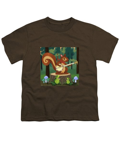 The Nutport Croak Music Festival Youth T-Shirt by Little Bunny Sunshine