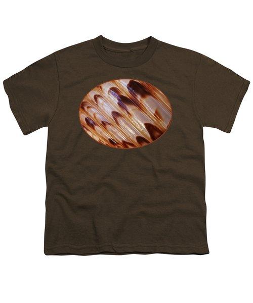Triton Seashell Abstract Youth T-Shirt by Gill Billington