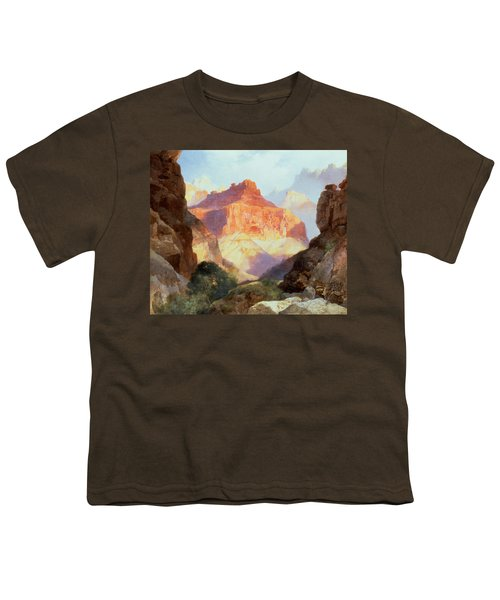 Under The Red Wall Youth T-Shirt by Thomas Moran