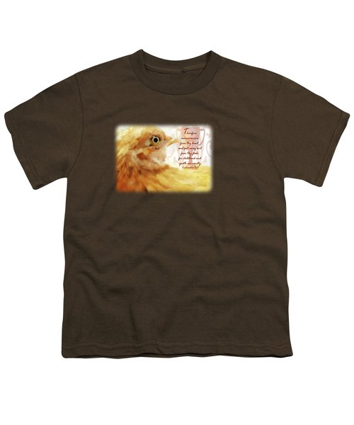 Vanity Fair - Verse Youth T-Shirt by Anita Faye